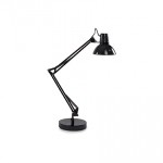 Lampa stołowa WALLY TL1 NERO 061191 -Ideal Lux